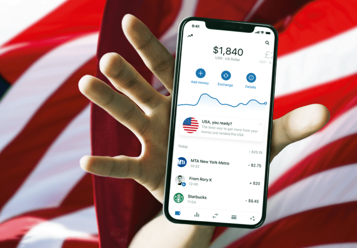 Revolut launches in the US!